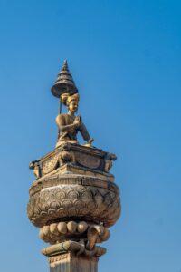 Statue of King Bhupatindra Malla