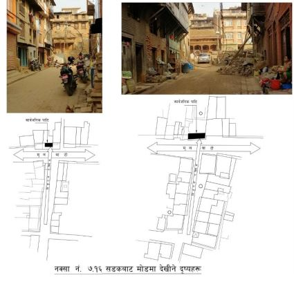 a study on Bharbacho and Itachhen tole of Bhaktapur