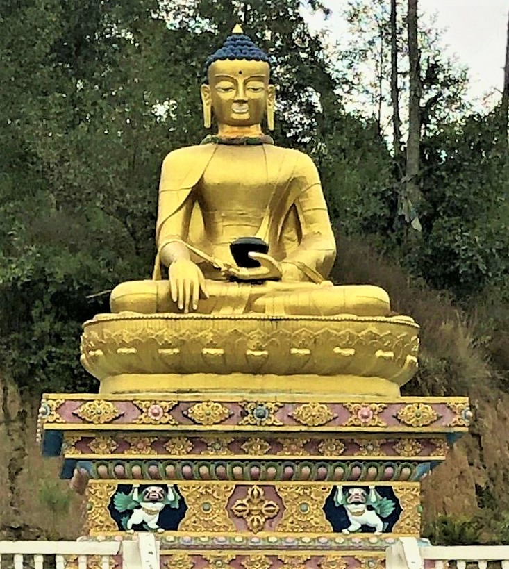 The statue of Lord Buddha