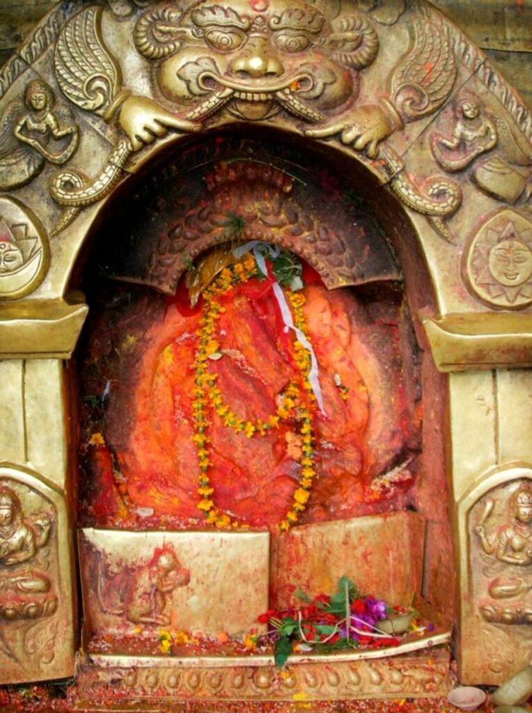 The statue of Suryabinayak