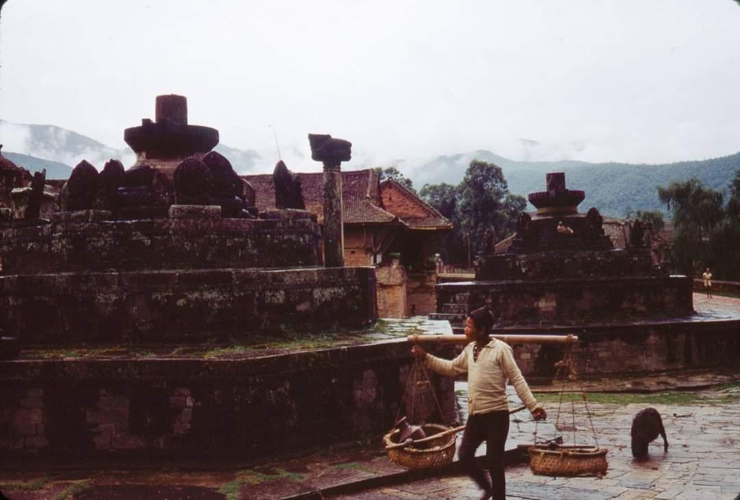 Hanuman Ghat (Khorhe) of Bhaktapur image
