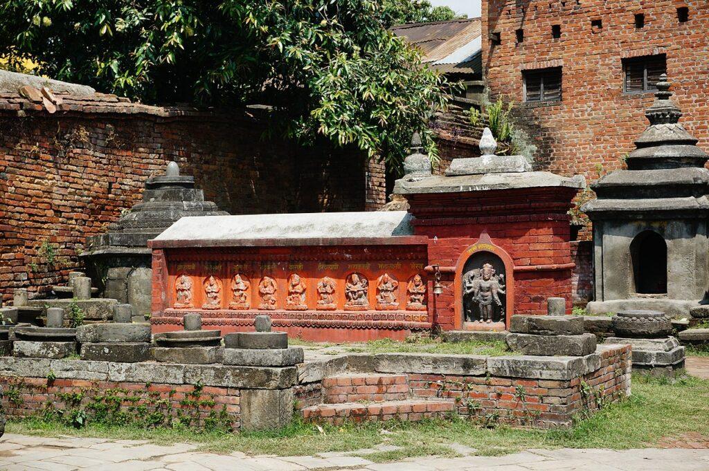 astamatrika at Hanuman ghat