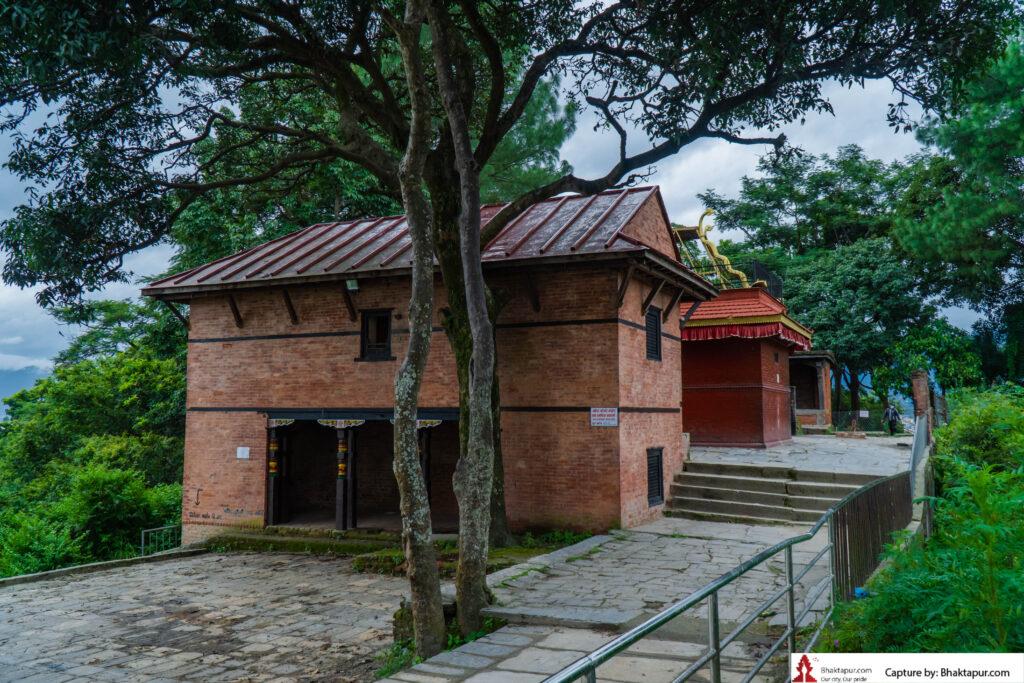 Nil Barahi temple premises