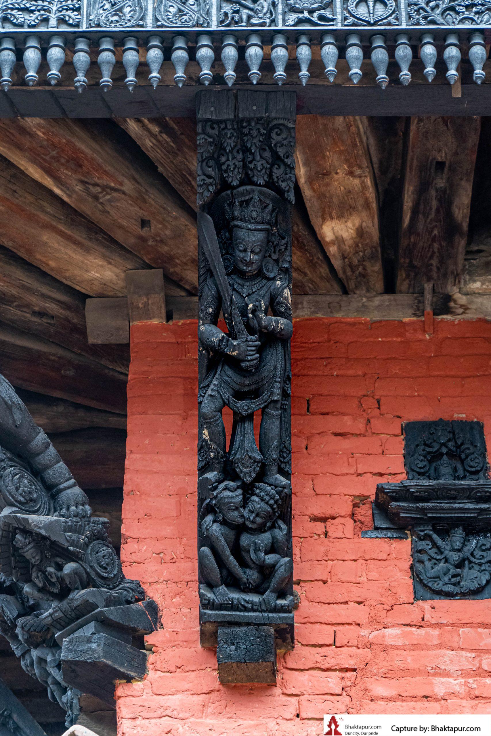 Erotic Carvings in Bhaktapur image