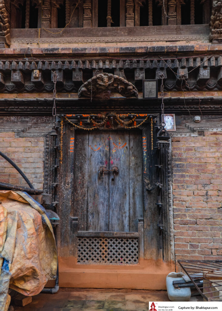 The door of Agam Chhen, Wane Layaku