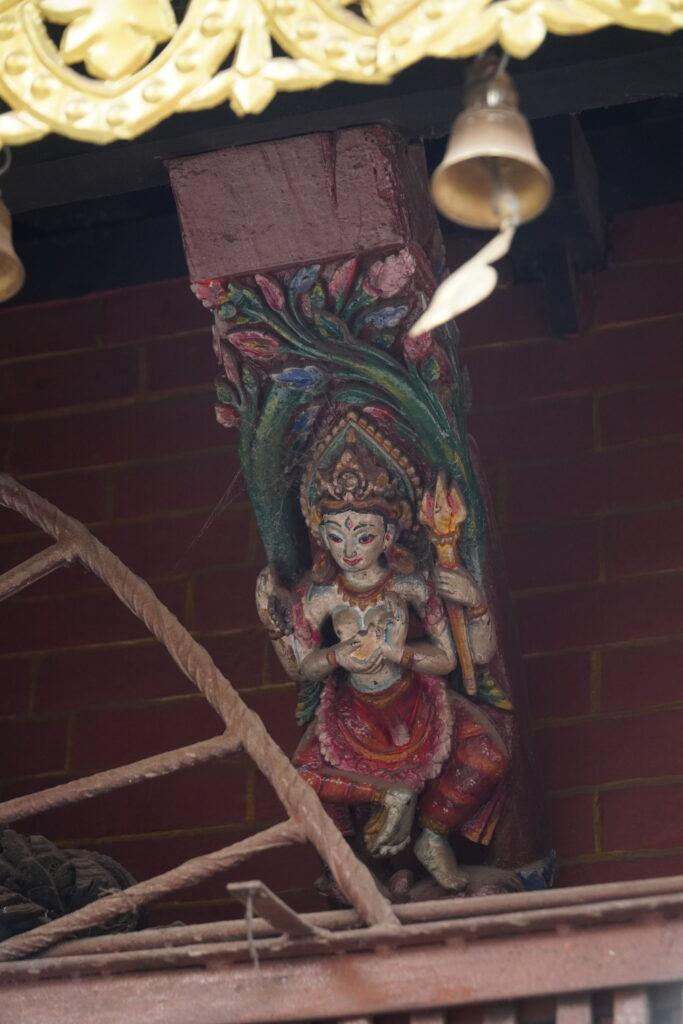 Astamatrika at Jetha Ganesh temple